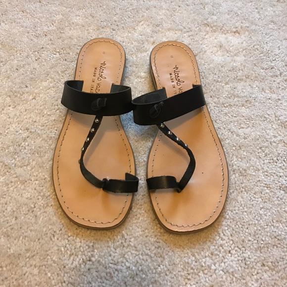 87c37c07c04619 Niccolo Vacari Italian Leather toe ring sandals 8.  M 5adc984e1dffdac719dd1915